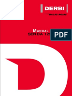 Derbi Senda 125 4T 2005 Manual Taller ESP