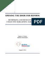 Opening The Door For Reform