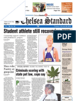 Chelsea Standard Front Page Oct. 20, 2011