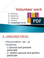Unit 4 Language Focus''