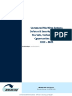 Unmanned Maritime Systems Uuv Usv Defense Security Market TOC