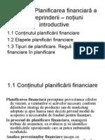 Tema 1 Planif Financ Concepte