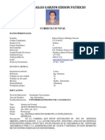 CV Edison Hidalgo
