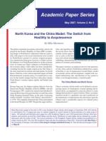 North Korea and the China Model