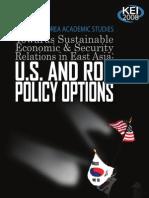 Issues In U.S.-ROK Economic Relations by Kozo Kiyota and Robert M. Stern