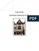 Presenting Starbucks Case Online