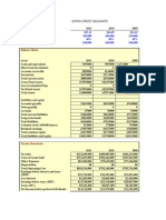 walmart balance sheet 2013