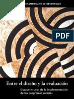 LIBRO-entre el diseño y la evaluacion-BID_Juan Carlos Cortazar