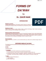 DrZakirNaik-FORMS OF DAWAH