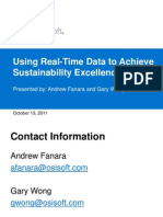 Using Real-Time Data to Achieve Sustainability Excellence