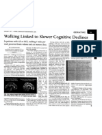 Walking and Cognition