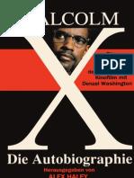 Malcolm X - Die Autobiographie (Auszug)