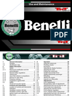 Benelli TnT 1130 Sport - User Maintenance Manual[1]