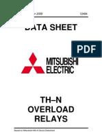 Mitsubishi TH-N Overload Relays