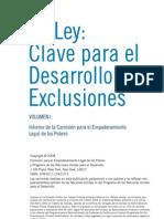 De Soto, Et Al - Clave Para El Desarrollo Sin Exclusiones