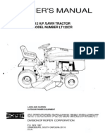 ROPER12HPLAWNTRACTORLT120CROWNERSMANUAL