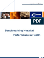 Bench Marking Hospital Performance in Health
