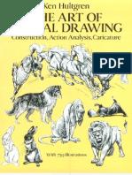 3267976 the Art of Animal Drawing Ken Hultgren