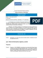 Orden Del Dia Comision Medio Ambiente 18-10-2011
