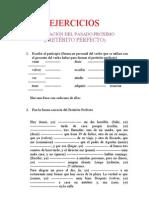 EJERCICIOS del pretérito perfecto (Ermua-alto 11-12)