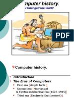 Computer history Presentation part1