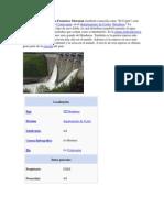 La central hidroeléctrica Francisco Morazán