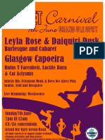Enable Corset Carnival Flyer