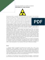 Os Efeitos Da Radioatividade No Corpo Humano