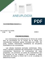 aneuploidía