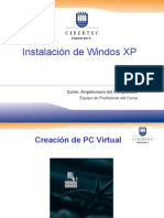 Instalacion de Windows Xp