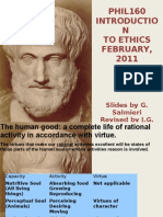 Aristotle on Virtue Revised