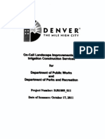 Parks on-Call Construction RFP2