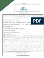 RECURSO INSS - Administrativo