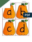 Pumpkin ABC's