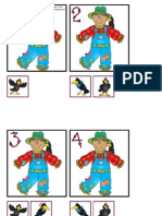 Scarecrow-Crow Number Matching