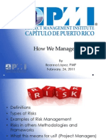 02-2011 How to Manage Risk