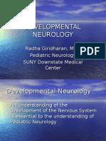 Developmental Neuro Lecture