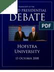 3rd Presidential Debate Transcript