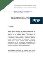 Regimenes Politicos