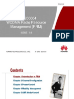 3 OWA200004 WCDMA Radio Resource Management (With Comment) ISSUE 1.0