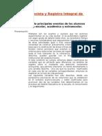 Pauta Entrevista y Registro Integral de Alumnos (1)
