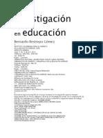 7. Investigación en educación