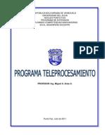 Programa de Teleprocesamiento Ing Miguel Arias Final