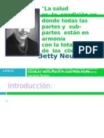 Betty Neuman, Sistem Model