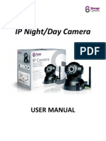 Storage Options SON-IPC1 IP Camera User Manual v1.2
