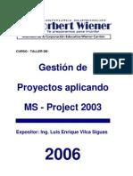 Manual de Ms Project 2003