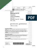 Edexcel A-Level CHEM1 June 2007 QP.pdf