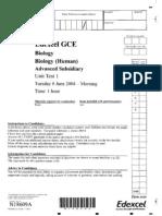 Edexcel A-LEVEL BIO1 June 2004 QP.pdf