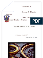 ANALISIS  N 1  COLOIDES