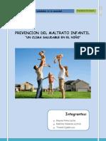 Programa Preventivo de Maltrato Infantil